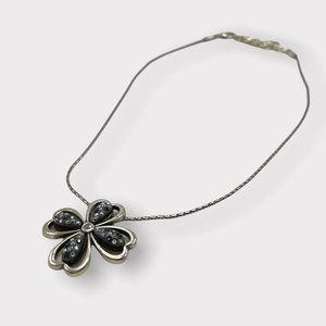 BRIGHTON necklace: Spread the Light pendant necklace crystal flower RETIRED